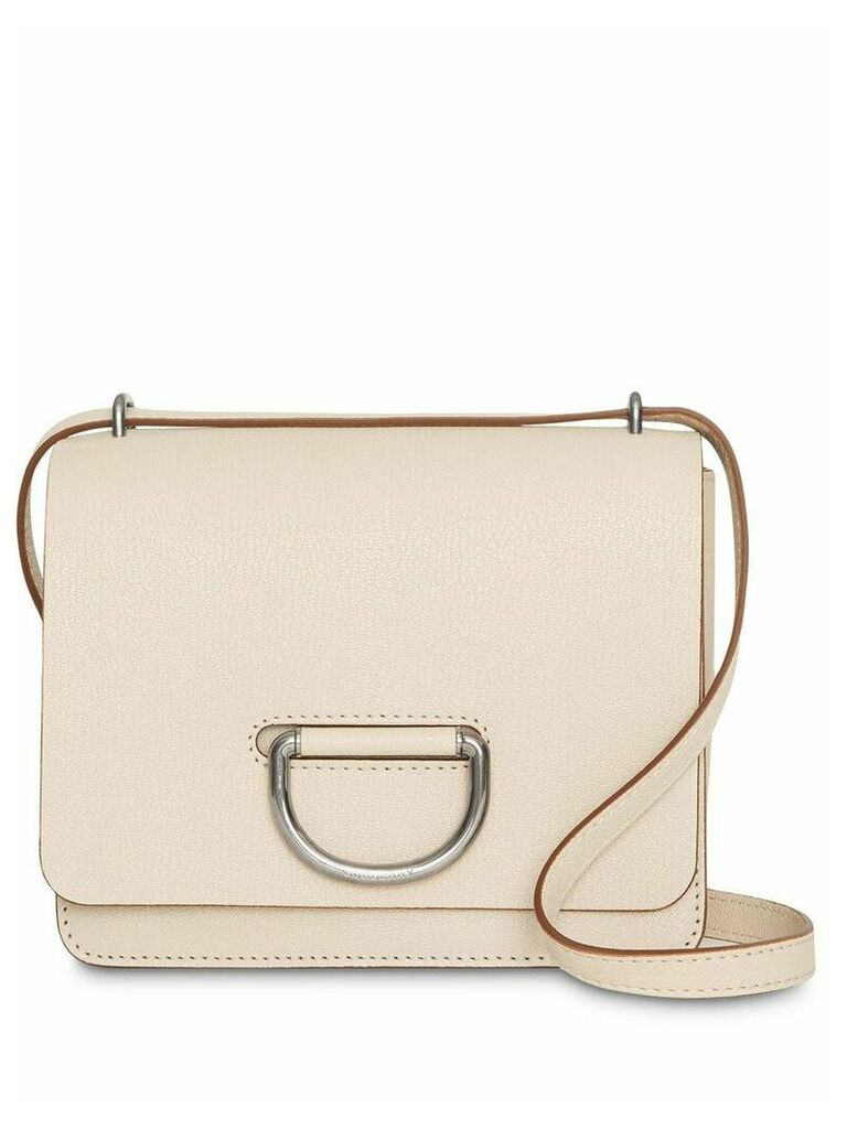 Burberry The Small Leather D-ring Bag - Neutrals
