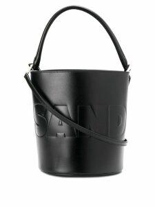 Jil Sander drawstring bucket bag - Black