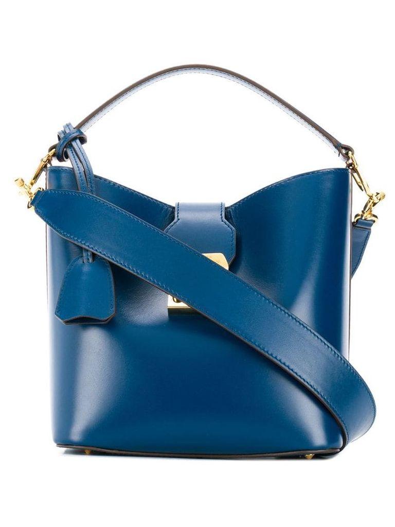 Mark Cross Murphy small tote bag - Blue
