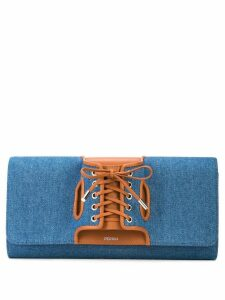 Perrin Paris Le Corset clutch bag - Blue