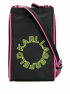 Karl Lagerfeld neon super mini crossbody - Black