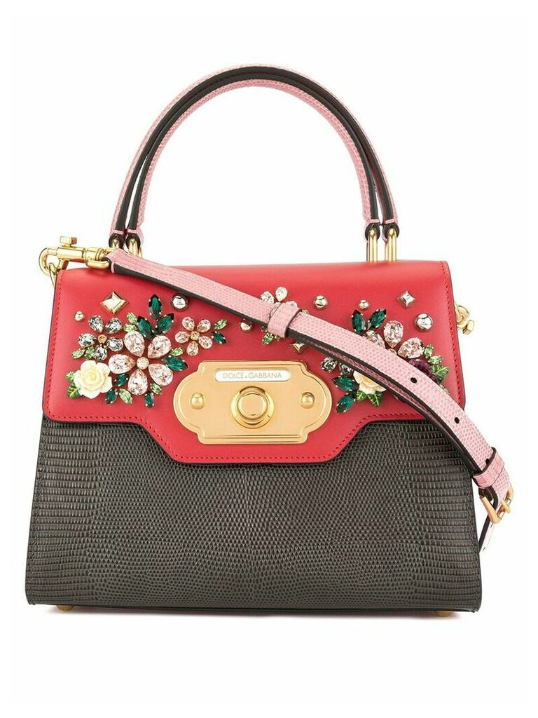 Dolce & Gabbana small Welcome shoulder bag - Red