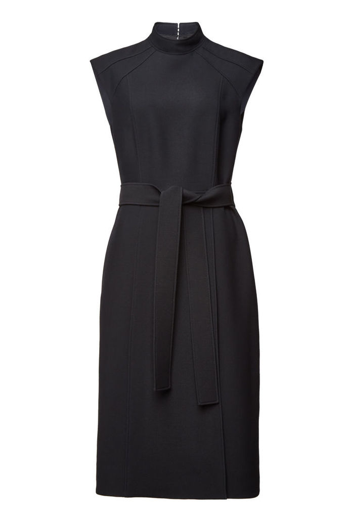 Burberry Wool Dress with Silk