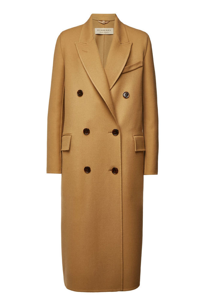 Burberry Wool Coat with Silk