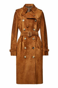 Burberry Haddington Suede Coat