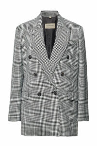 Burberry Checked Wool Blazer