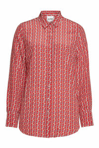 Aybi Bagatha Printed Silk Shirt