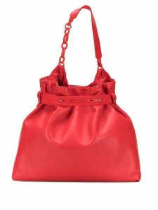 Lanvin chain detail tote - Red