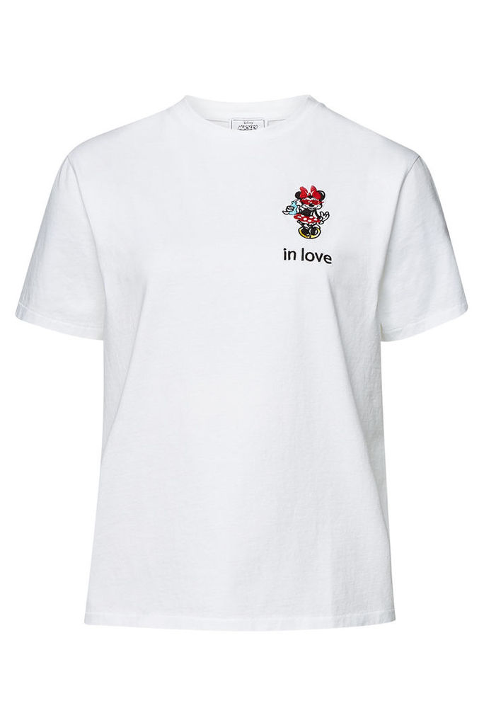 Aybi Jada Embroidered Cotton T-Shirt