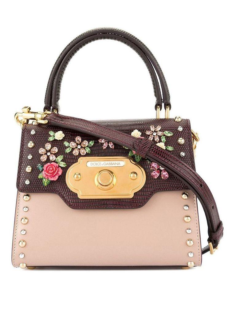 Dolce & Gabbana mini Welcome bag - Red