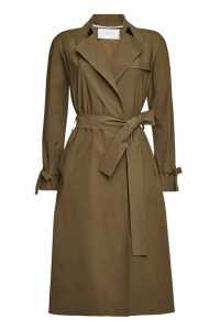 Harris Wharf London Technic Trench Coat