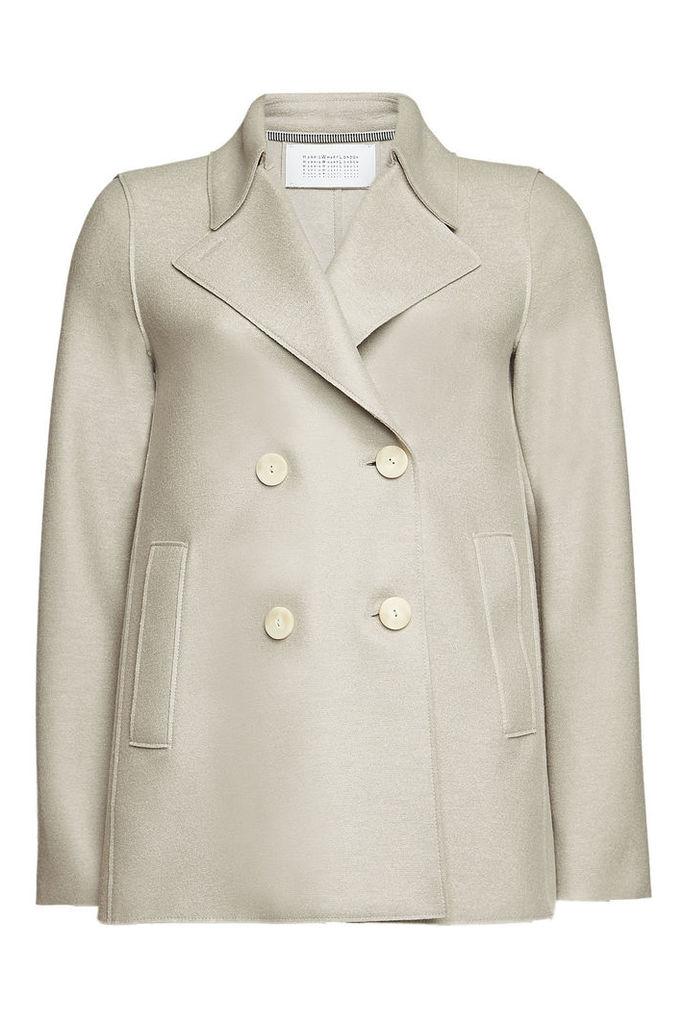 Harris Wharf London Virgin Wool Pea Coat