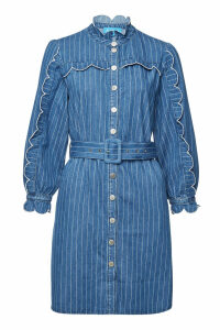 M.i.h Jeans Covey Striped Denim Dress