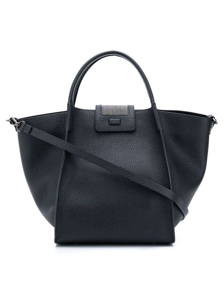 Fabiana Filippi Viola tote bag - Black