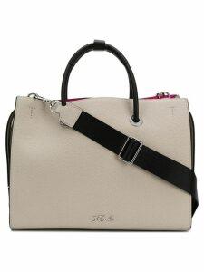 Karl Lagerfeld K/Karry-All shopper bag - Neutrals