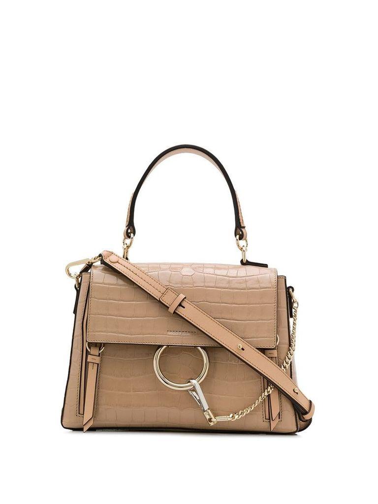 Chloé Faye shoulder bag - Neutrals