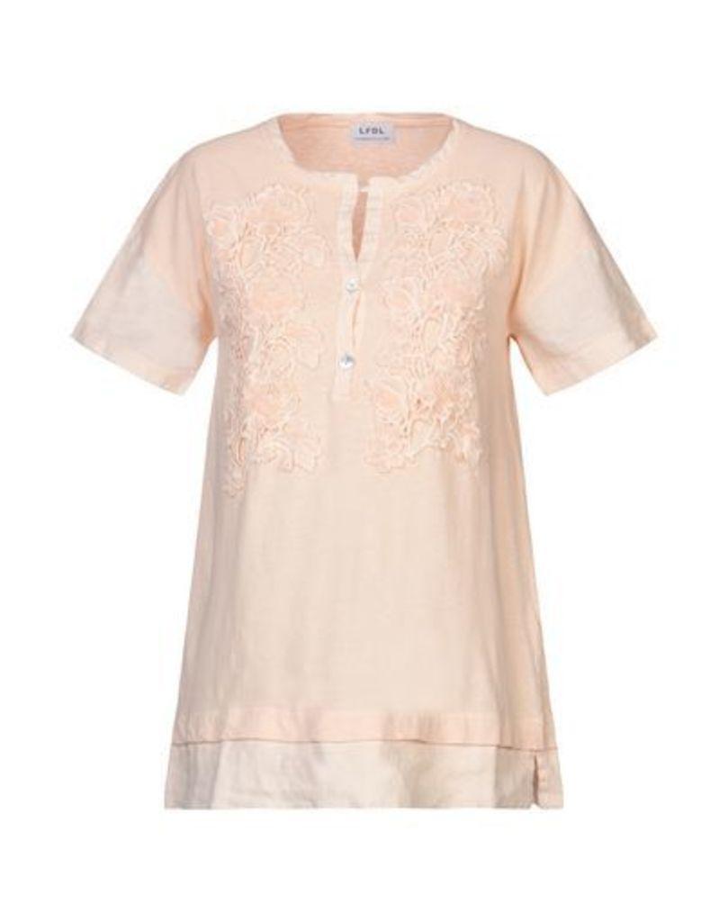 LA FABBRICA del LINO TOPWEAR T-shirts Women on YOOX.COM