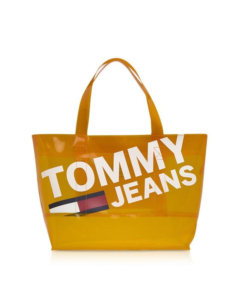 Tommy Hilfiger Designer Handbags, Tommy Transparent Tote Bag