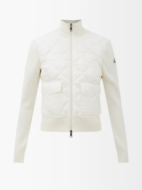 Gucci - A Line Gg Jacquard Cotton Blend Skirt - Womens - Beige Multi