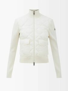 Gucci - A Line Gg Jacquard Cotton Blend Skirt - Womens - Beige Multi