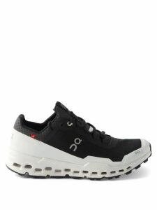 Raf Simons - Single Breasted Houndstooth Wool Blazer - Womens - Grey Multi