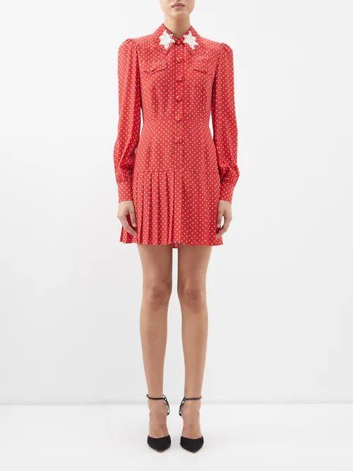 Harris Wharf London - Collarless Single Breasted Pressed Wool Coat - Womens - Dark Green