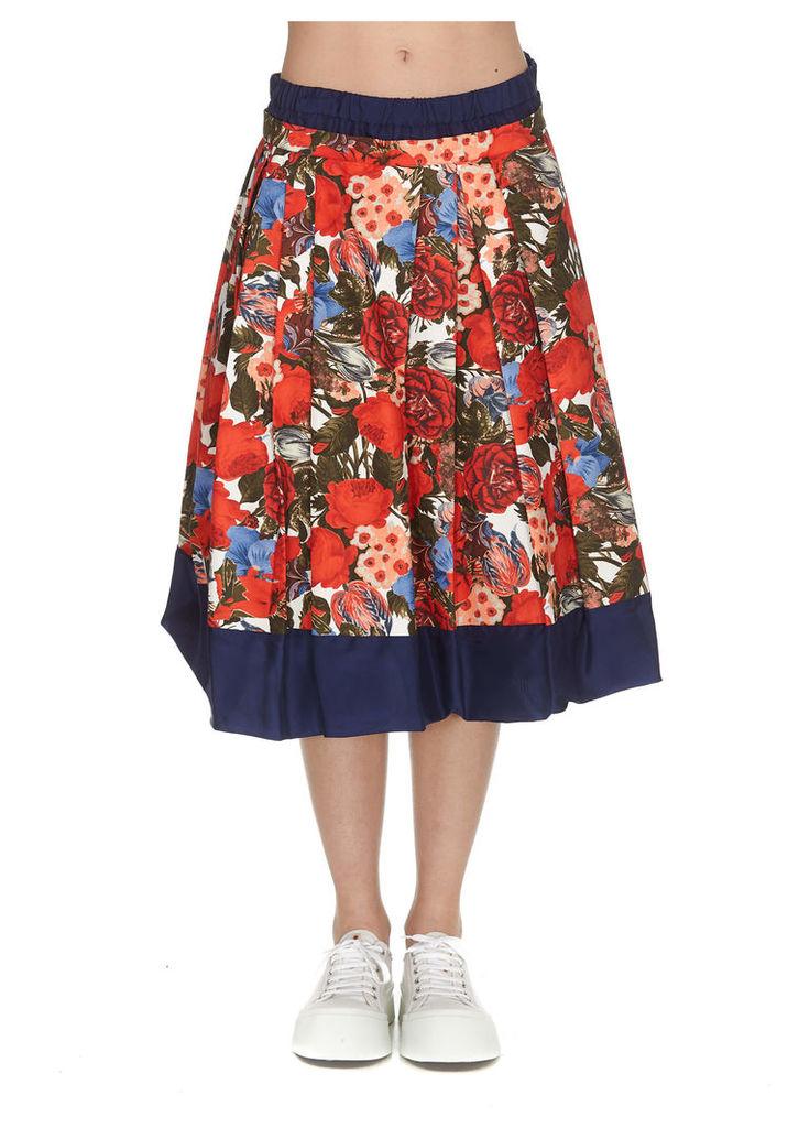Marni Duncraig Print Cady Skirt