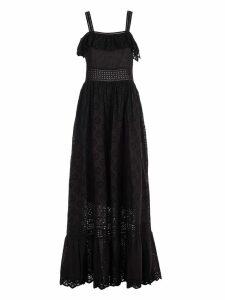 TwinSet Ruffled Applique Dress