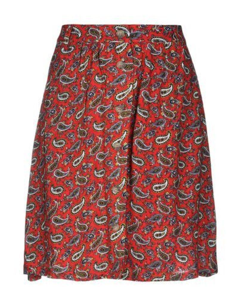 AMERICAN VINTAGE SKIRTS Knee length skirts Women on YOOX.COM