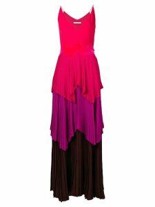 Givenchy layered-pleats dress - Pink