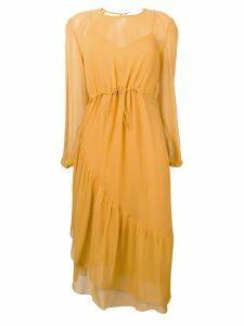 See By Chloé drawstring waist dress - Yellow