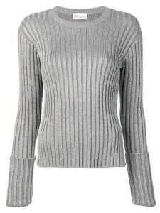 Red Valentino ribbed jumper - Silver