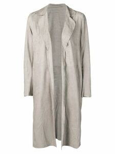 Salvatore Santoro open front coat - Grey