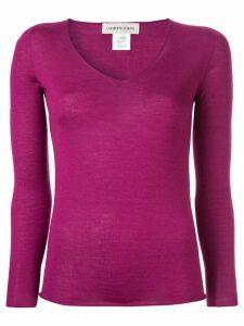 Lamberto Losani V-neck jumper - Purple