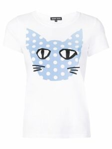 Markus Lupfer Kelly polka dot Coco Cat T-shirt - White