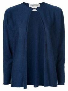 Lamberto Losani open-front cardigan - Blue