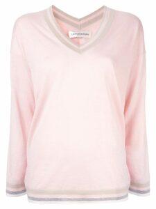 Lamberto Losani V-neck jumper - Pink
