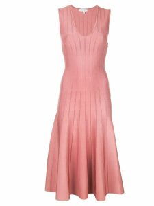 Casasola flared midi dress - Pink