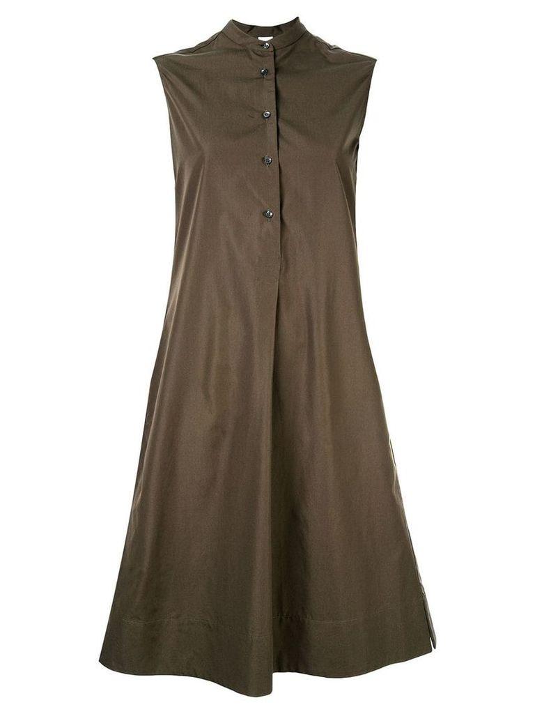 Aspesi front pleat dress - Green