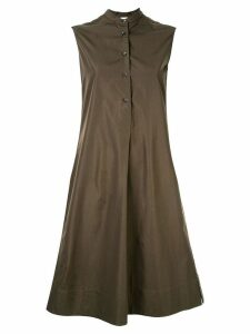 Aspesi front pleat dress - Green