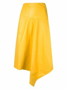 Tibi asymmetric skirt - Yellow