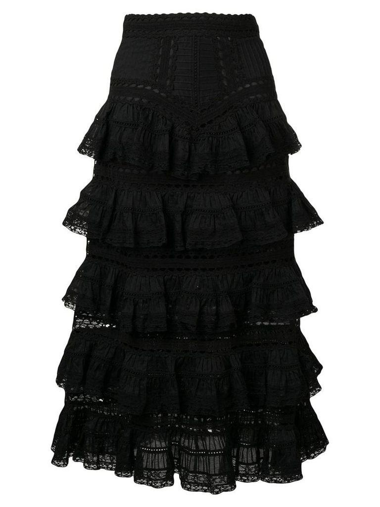 Zimmermann Juniper skirt - Black