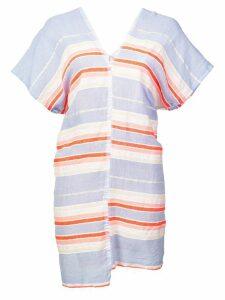 Lemlem Fiesta striped mini dress - Pink