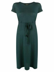 Roberto Collina tie waist dress - Green