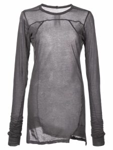 Rick Owens long plinth T-Shirt - Black
