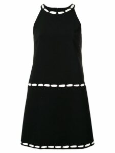 Moschino fitted mini dress - Black
