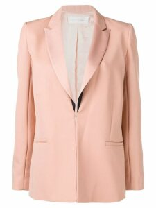 Victoria Victoria Beckham contrast lapel blazer - Pink
