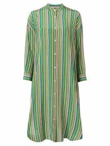 Aspesi striped midi dress - Green
