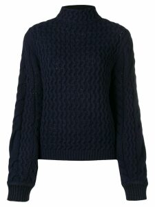 Victoria Victoria Beckham chunky knit jumper - Blue