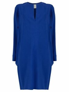 Maison Rabih Kayrouz v-neck short dress - Blue